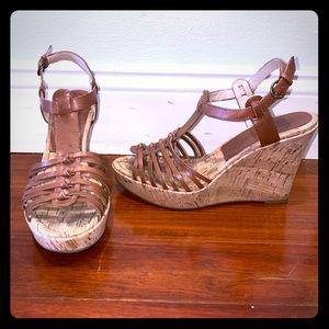 Audrey Brooke wedge heels